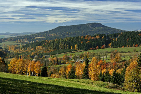 Kladsk pomez - stolov hora Osta